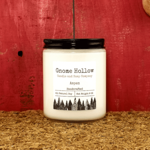 Aspen Scented Soy Candle