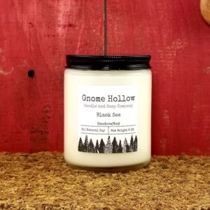 Black Sea Scented Soy Candle