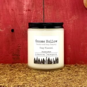 Cozy Flannel Scented Soy Candle