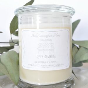 French Farmhouse Scented Soy Candle 12oz