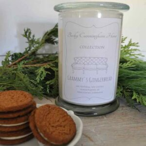 Grammy's Gingerbread Scented Soy Candle 12oz