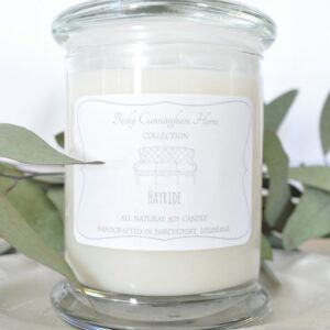 Hayride Scented Soy Candle 12oz