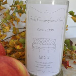 Hayride Scented Soy Candle 20oz