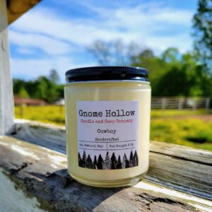 Cowboy Scented Soy Candle