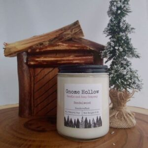 Sandalwood Scented Soy Candle