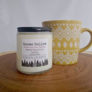 Sweet Brazilian Coffee Scented Soy Candle
