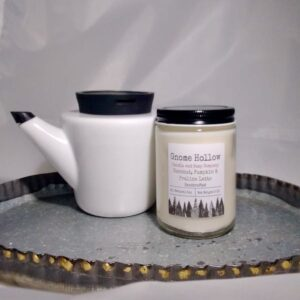 Coconut, Pumpkin, and Praline Latte Scented Soy Candle