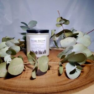 Lemon Eucalyptus Scented Soy Candle