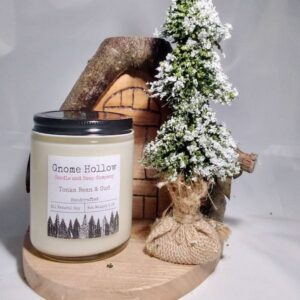 Tonka Bean and Oud Scented Soy Candle