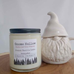 French Vanilla Latte Scented Soy Candle
