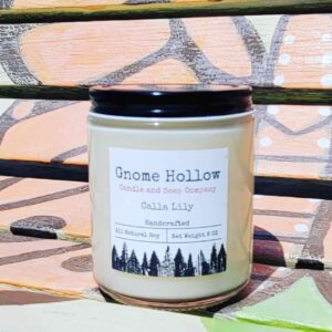 Calla Lily Scented Soy Candle