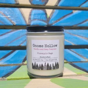 Pineapple Sage Scented Soy Candle