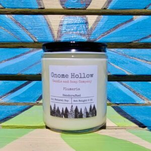 Plumeria Scented Soy Candle