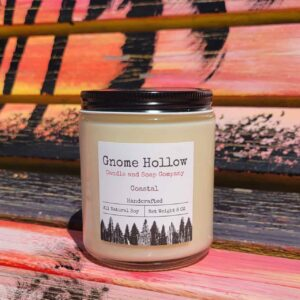 Coastal Scented Soy Candle