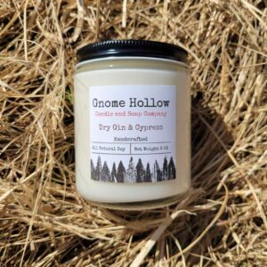 Dry Gin And Cypress Scented Soy Candle