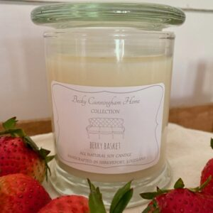 Berry Basket Scented Soy Candle 12oz