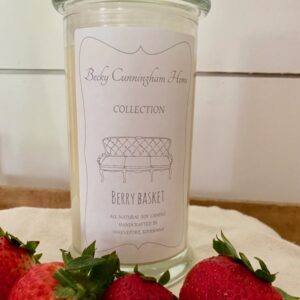Berry Basket Scented Soy Candle 20oz
