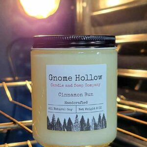 Cinnamon Bun Scented Soy Candle