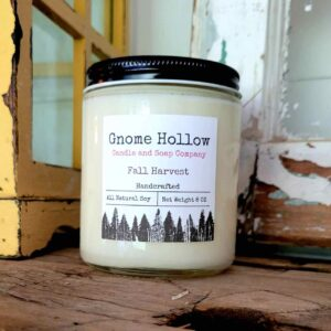 Fall Harvest Scented Soy Candle