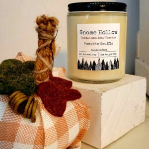 Pumpkin Souffle Scented Soy Candle