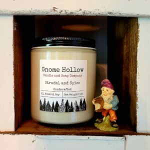 Strudel and Spice Scented Soy Candle